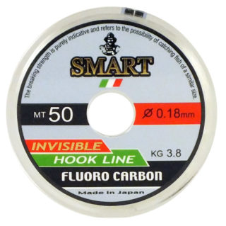 Monofilo MAVER SMART FLUORO CARBON 50MT - 0,25 mm